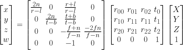 Coordinates: Bundler, Matlab, OpenGL
